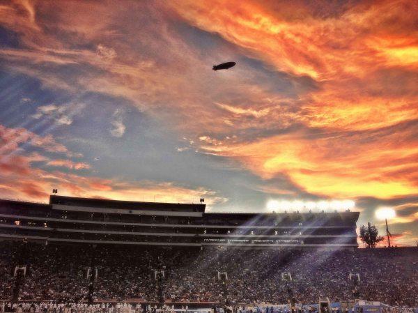 the Rose Bowl - UCLA v Nevada by Scott Wu